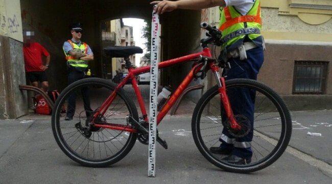 Épp kilépett a kapun a miskolci asszony, amikor halálra gázolta egy biciklis