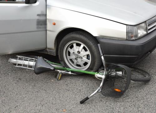 baleset kerékpár